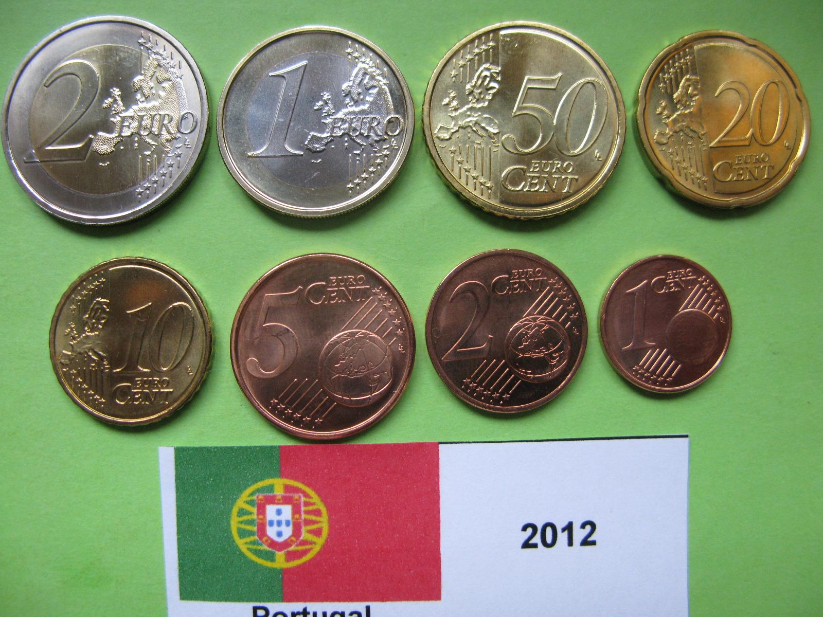 Португалия набор евро  2013 г. UNC