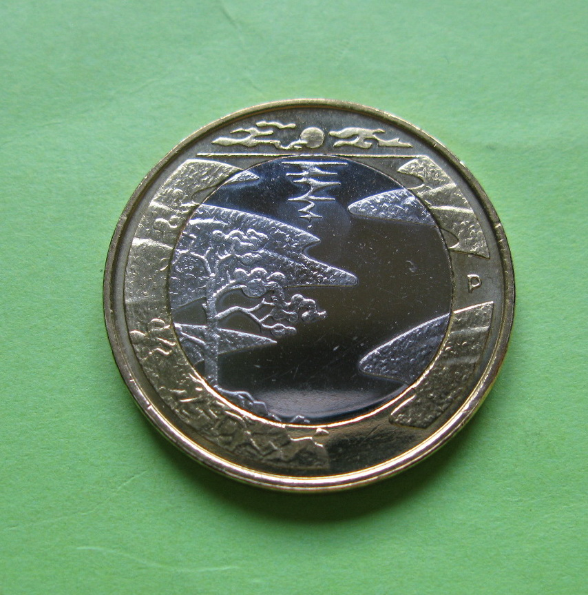 Финляндия 5 евро 2013 г. Лето