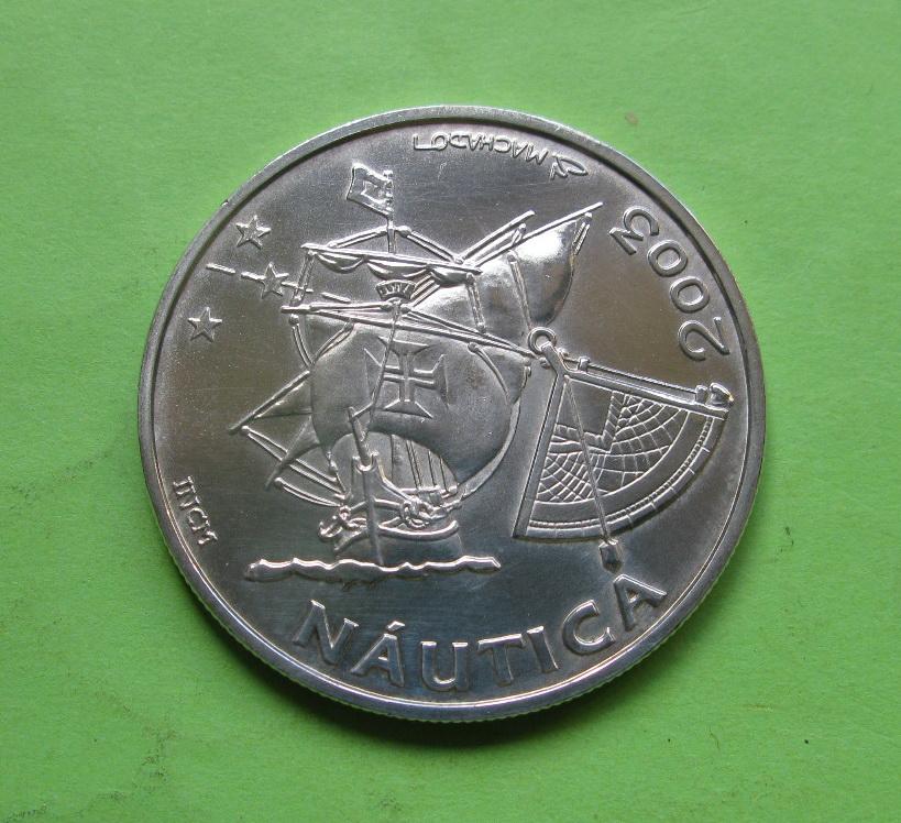 Португалия 10 евро 2003  Традиции навигации