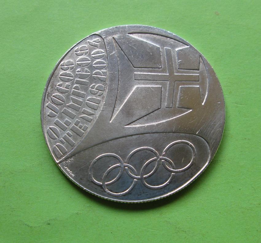 Португалия 10 евро 2004  Летние Олимпийские игры 2004 в Афинах