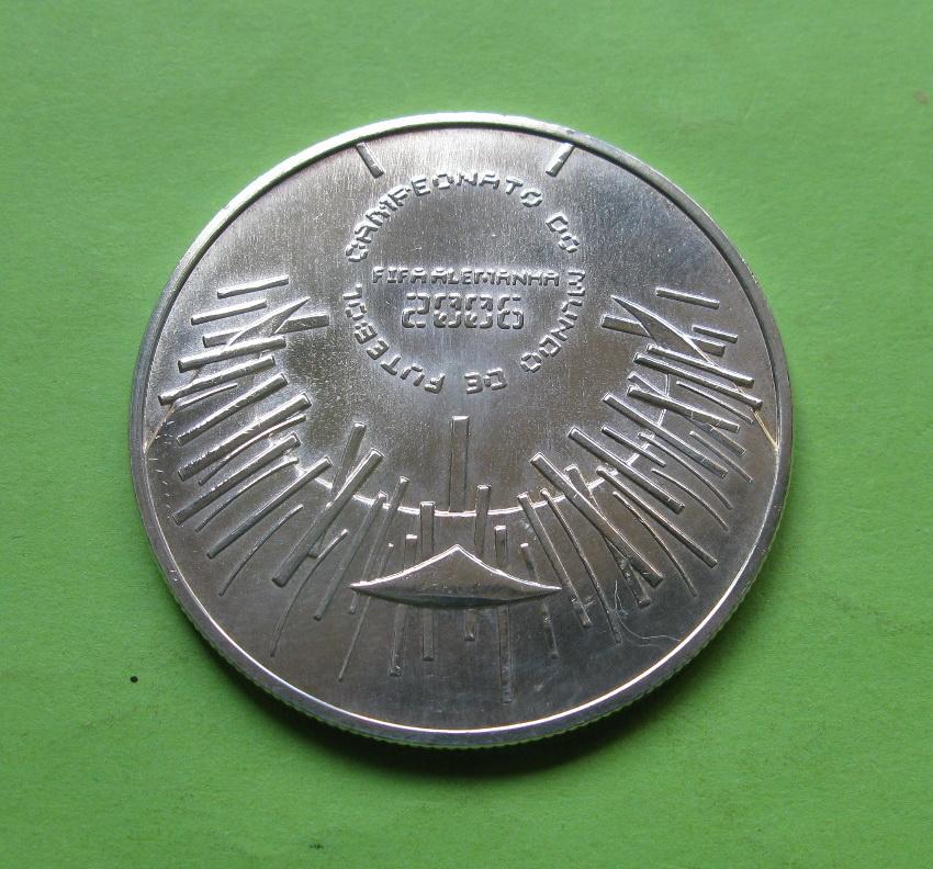 Португалия 10 евро 2006 Чемпионат мира по футболу 2006 в Германии