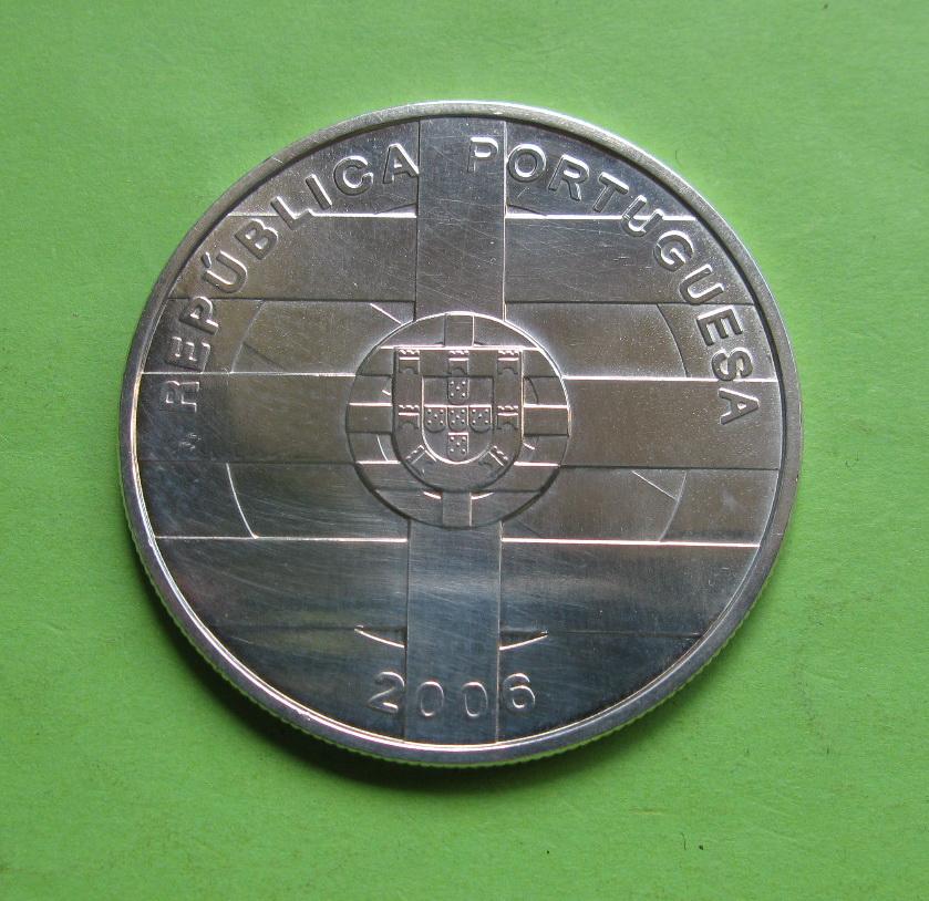 Португалия 10 евро 2006  20 лет вступления Португалии и Испании в ЕС
