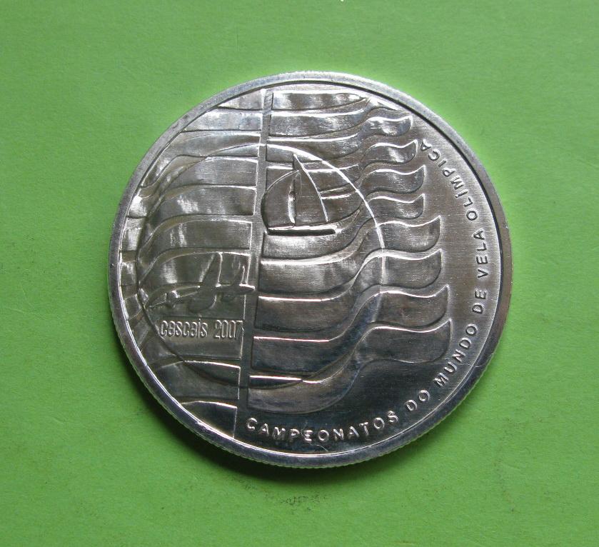 Португалия 10 евро 2007, Чемпионат мира по парусному спорту
