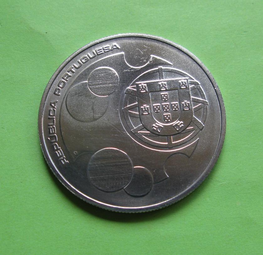 Португалия 10 евро 2011  25 лет членства Португалии и Испании в ЕС