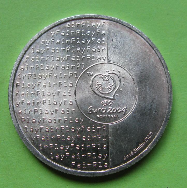 Португалия 8 евро 2003 г. Футбол - это честная игра.