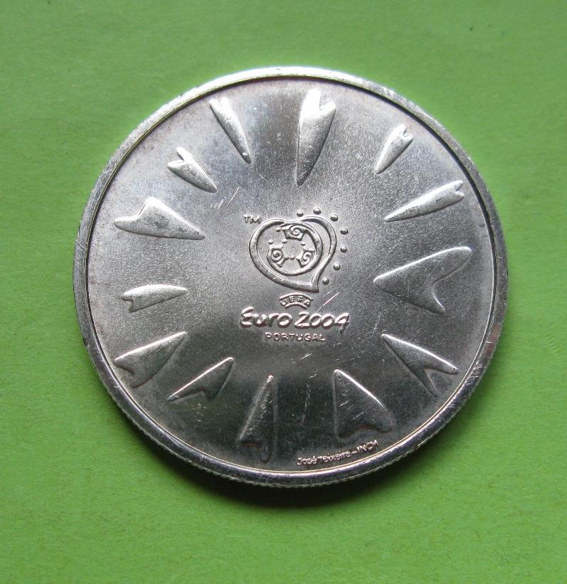 Португалия 8 евро 2004 г. Чемпионат Европы по футболу- гол
