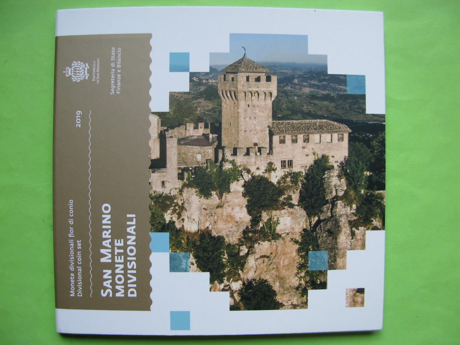 Сан Марино официальный набор евро 2019 г.
