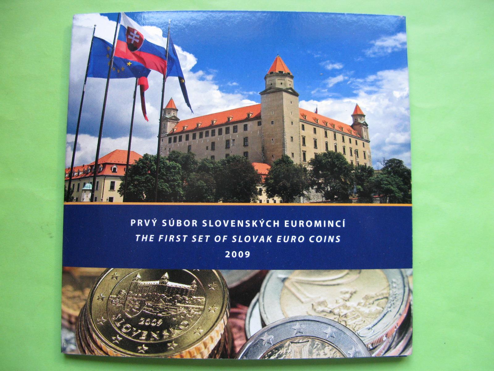 Словакия официальный набор евро 2009 г.