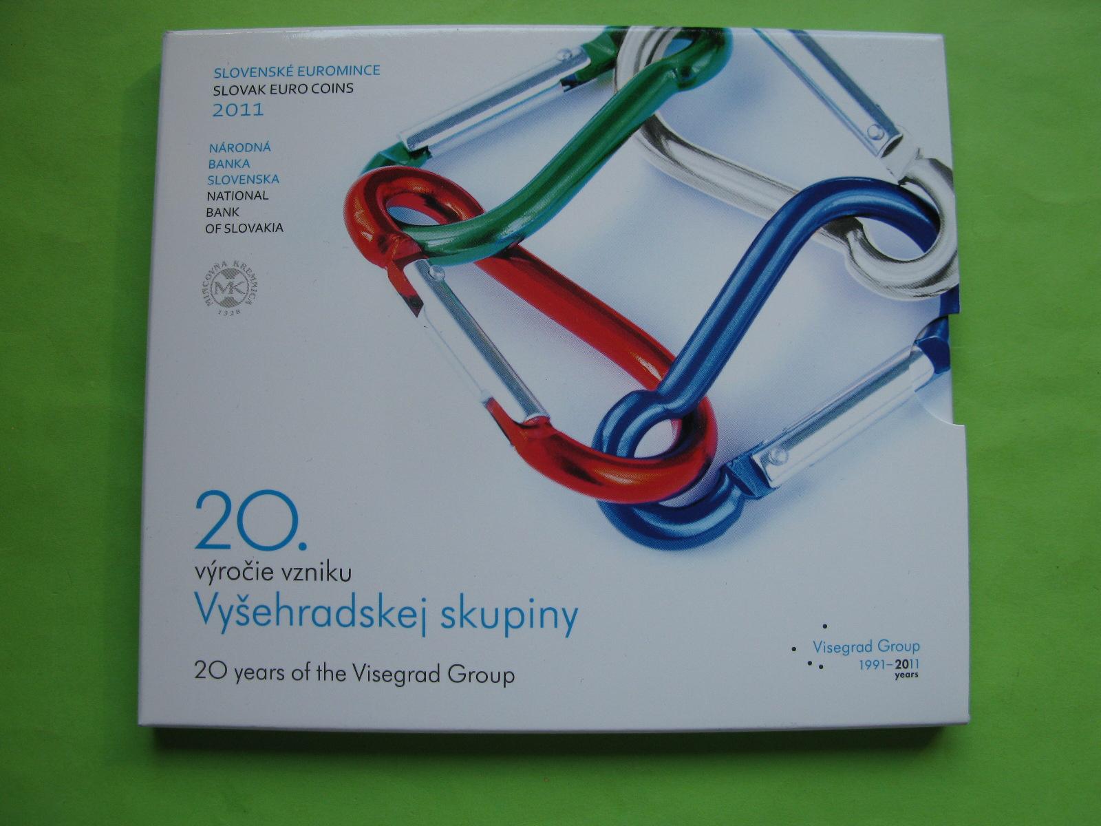 Словакия официальный набор евро 2011 г.