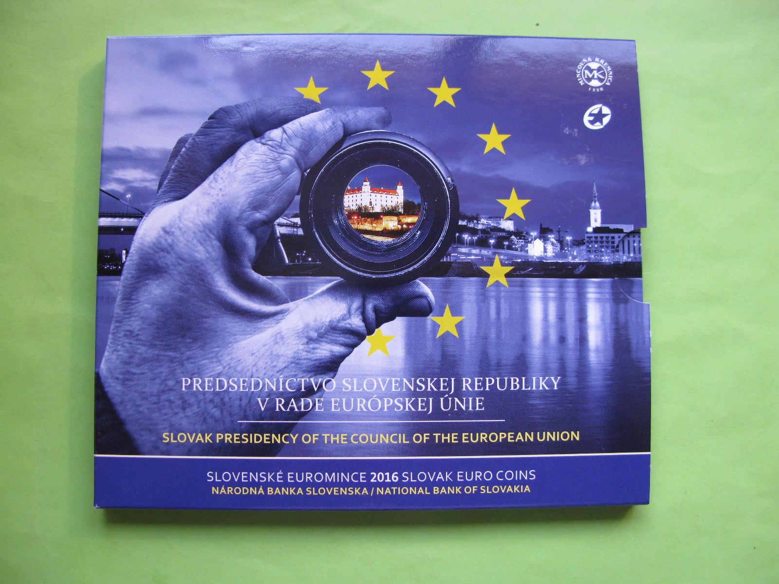 Словакия официальный набор евро 2016 г.