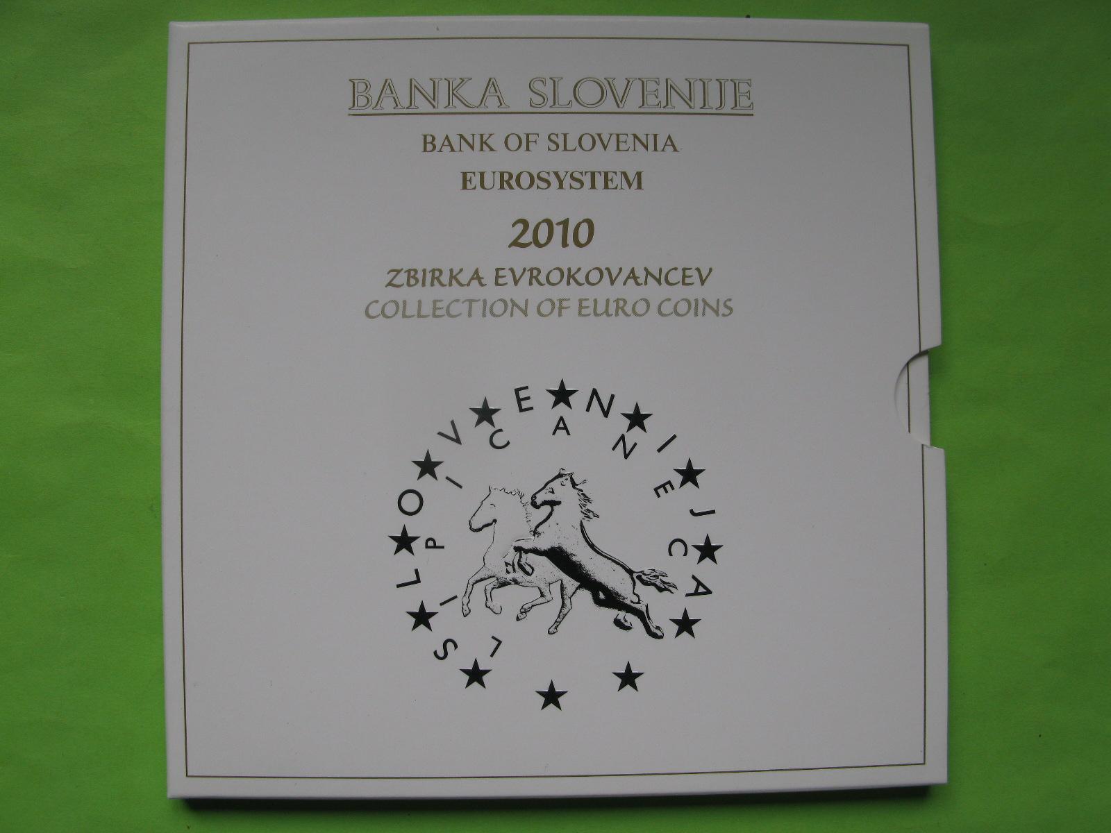 Словения официальный набор евро 2010 г.