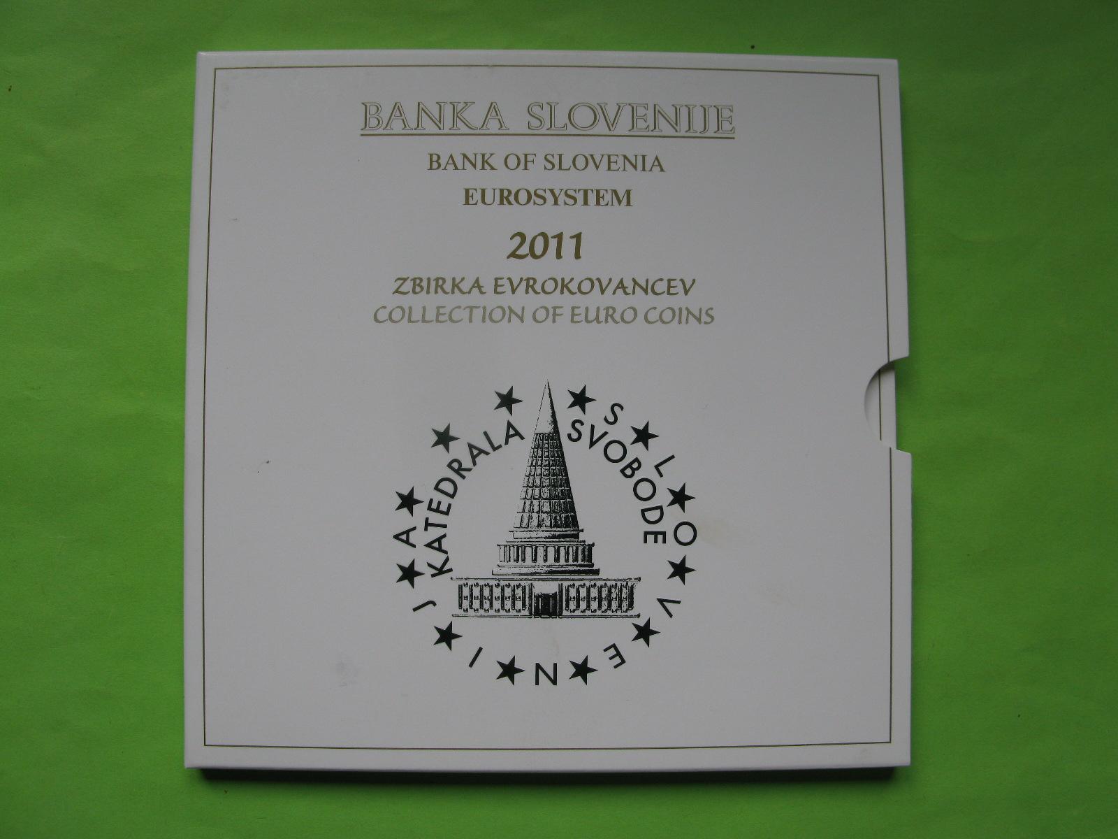 Словения официальный набор евро 2011 г.