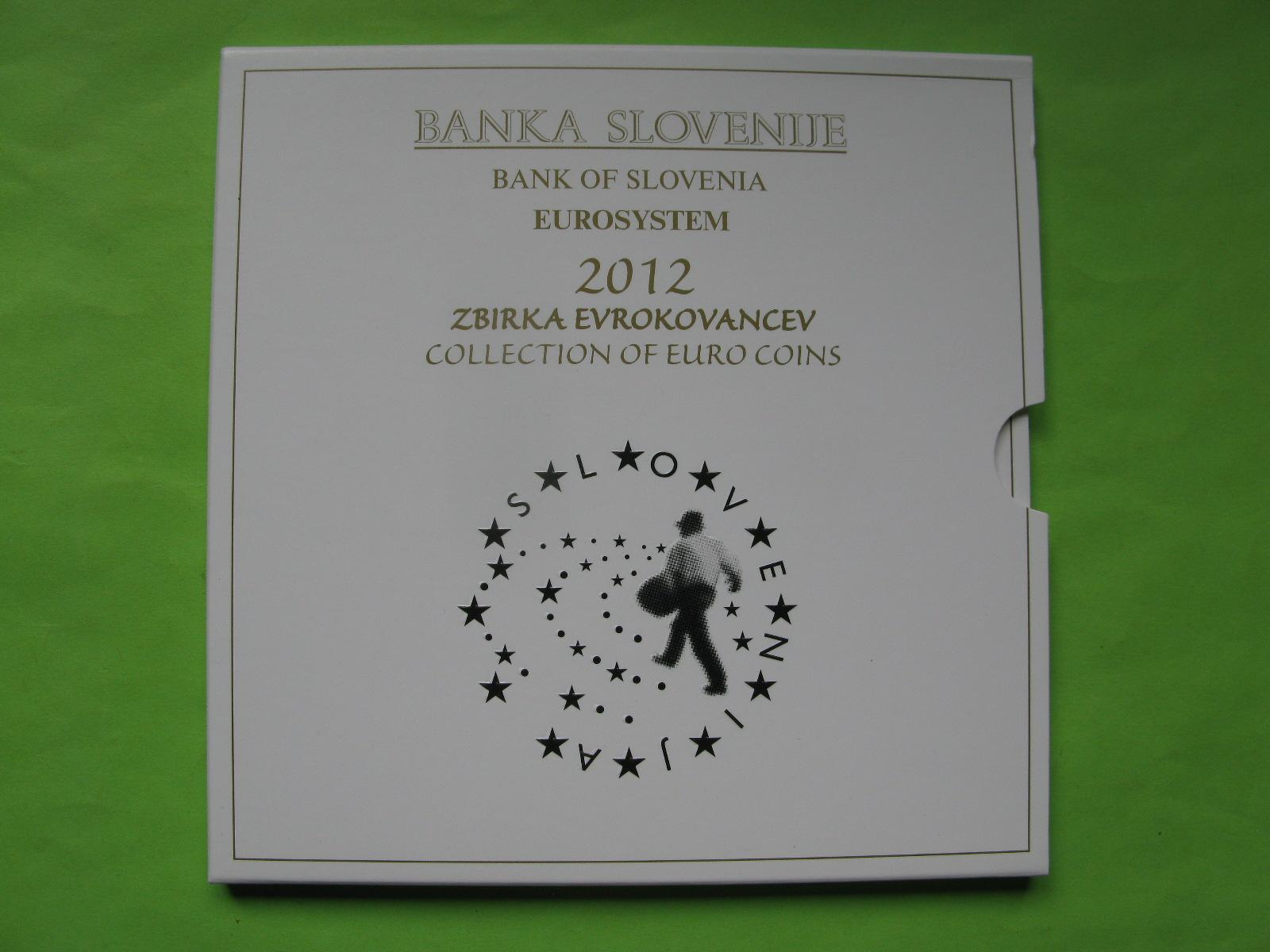 Словения официальный набор евро 2012 г.