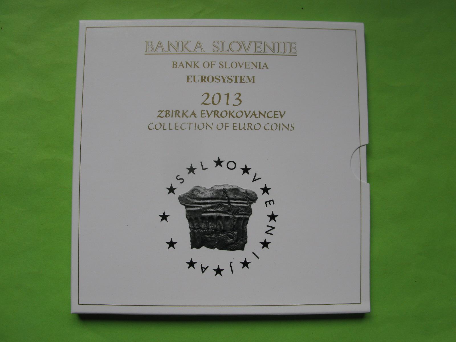 Словения официальный набор евро 2013 г.