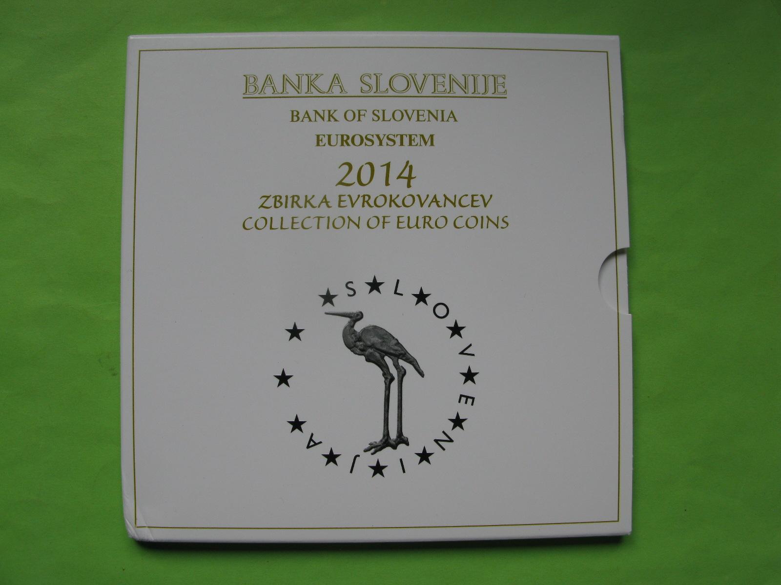 Словения официальный набор евро 2014 г.