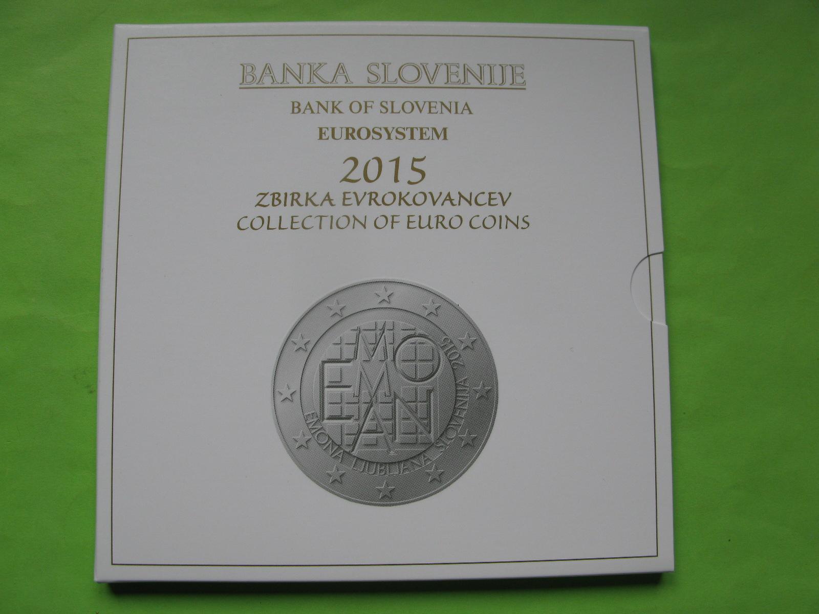 Словения официальный набор евро 2015 г.