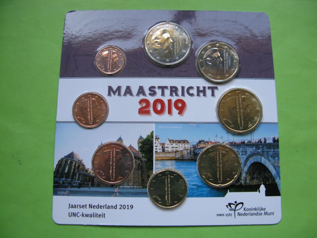 Нидерланды официальный набор евро 2019 г.