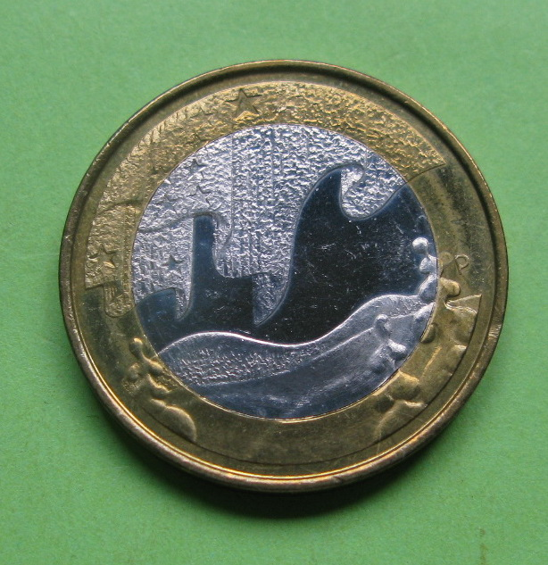 Финляндия 5 евро 2012 г. Зима