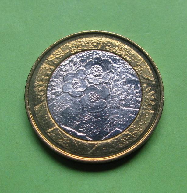 Финляндия 5 евро 2012 г. Флора