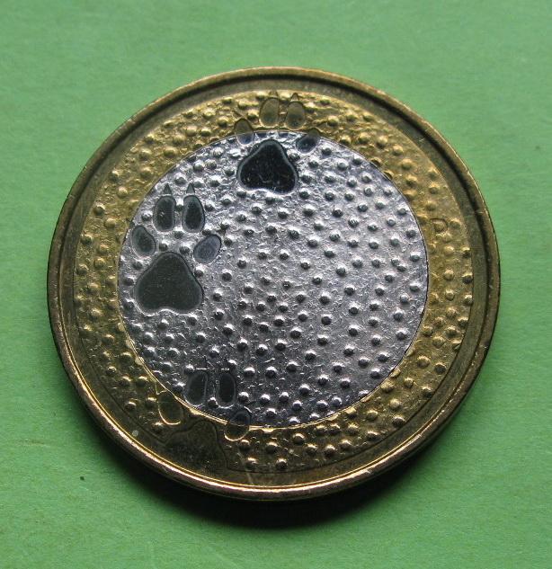 Финляндия 5 евро 2012 г. Фауна