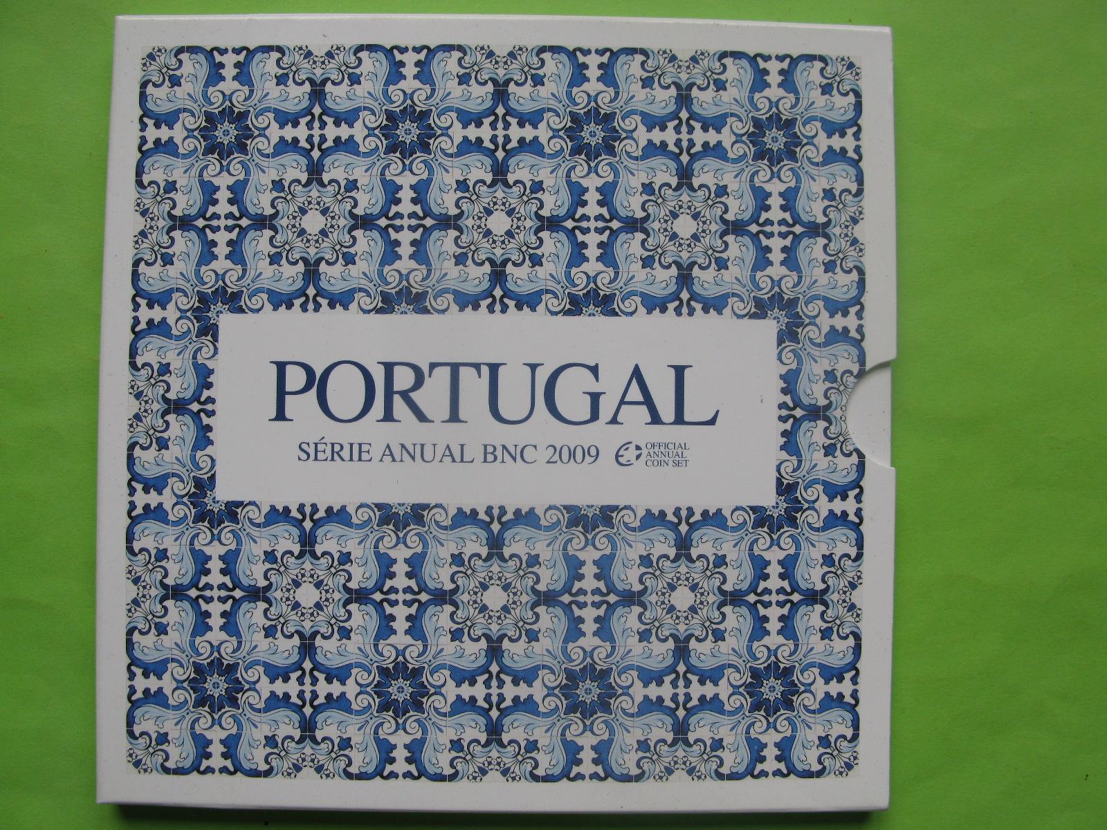 Португалия официальный набор евро монет 2009 г.