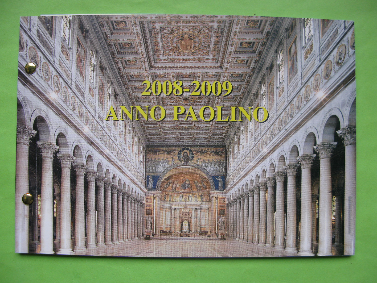 Ватикан 2 евро 2008 г.  Год апостола Павла (конверт)