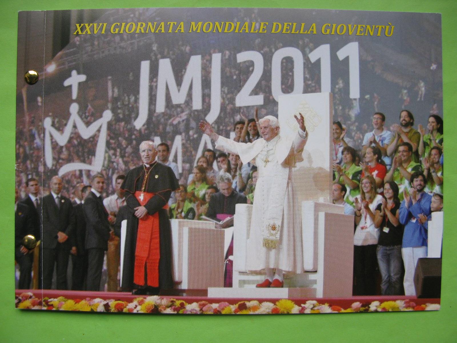 Ватикан 2 евро 2011 г. День молодёжи в Мадриде (конверт)