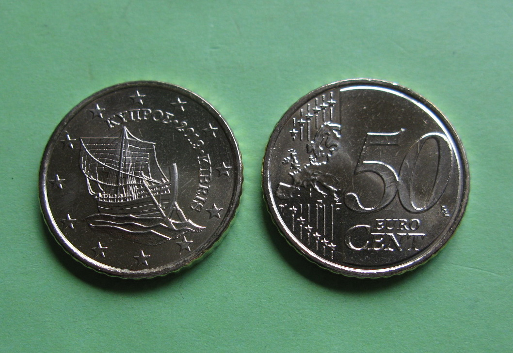 Кипр 50 евро центов 2019