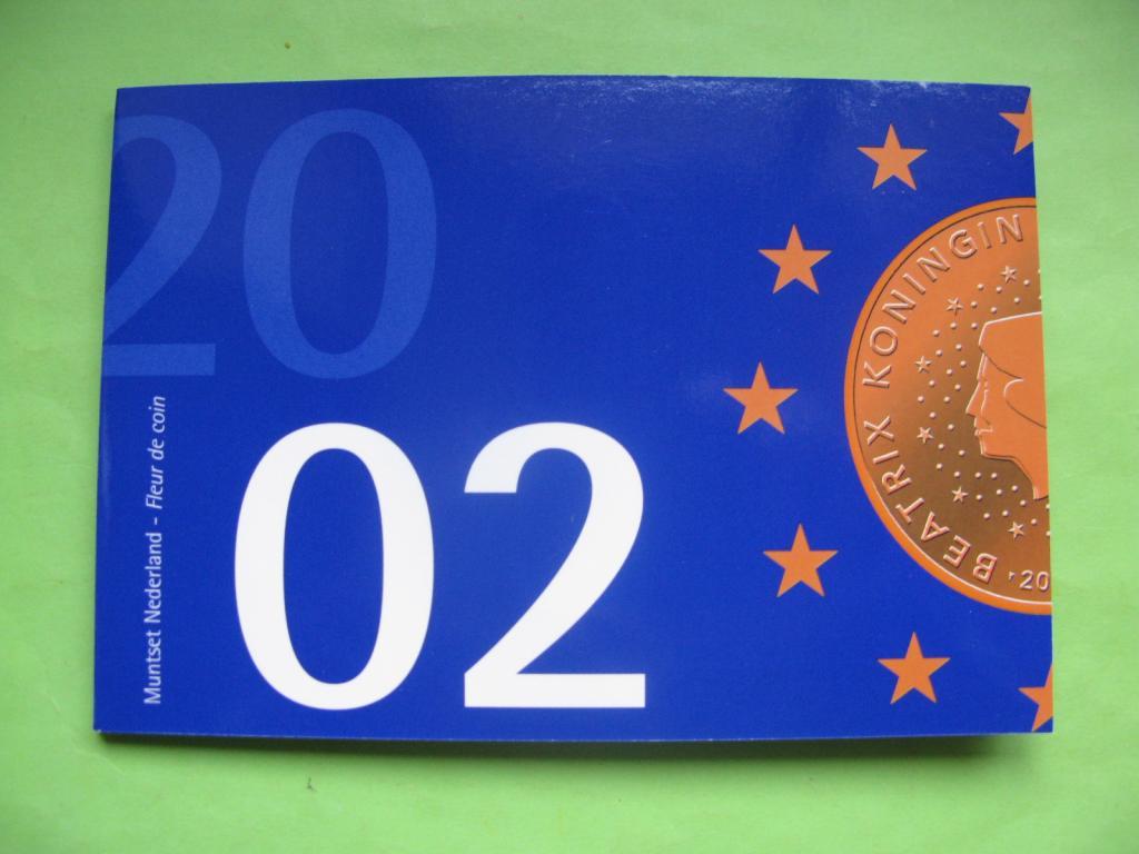 Нидерланды официальный набор евро 2002 г.