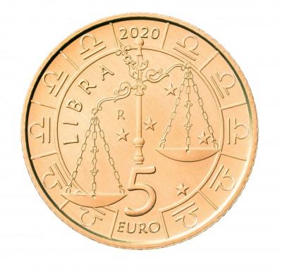 Сан Марино 5 евро 2020 Весы