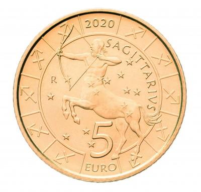 Сан Марино 5 евро 2020 Стрелец