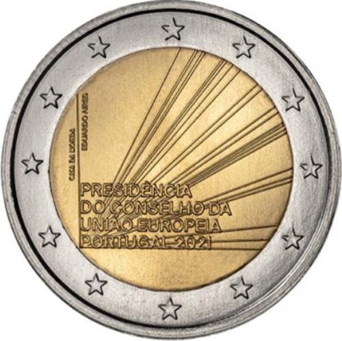 Португалия 2 евро 2021 г. Председательство Португалии в Совете ЕС
