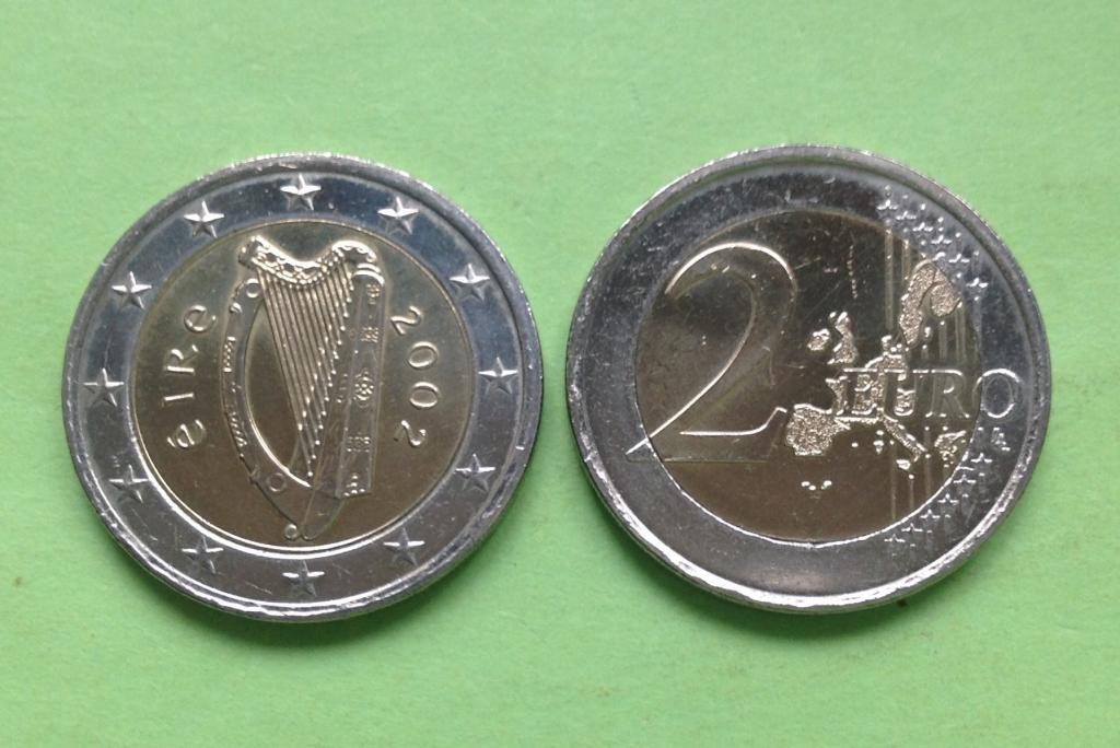 Ирландия 2 евро 2002 г.