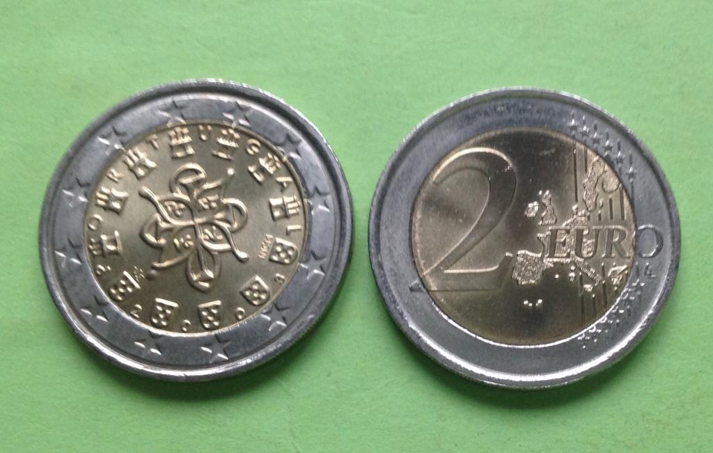 Португалия 2 евро 2003 г.
