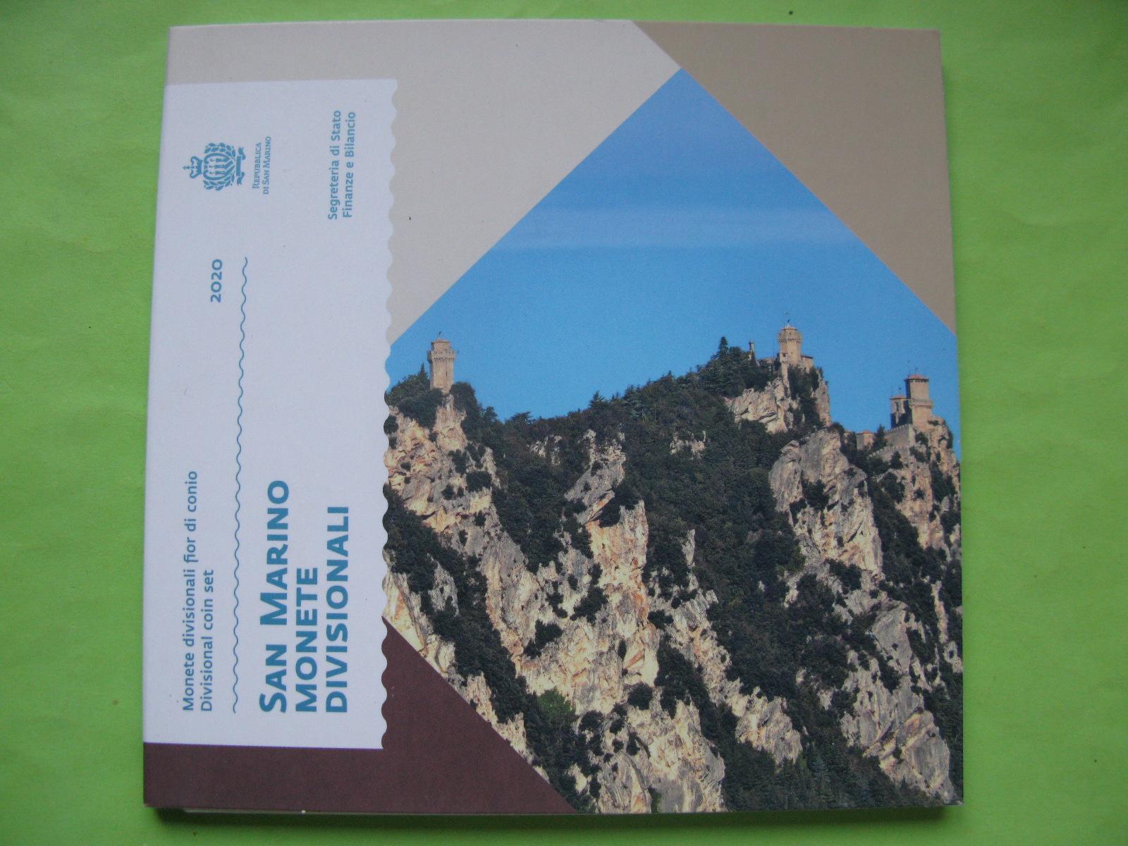 Сан Марино официальный набор евро 2020 г.