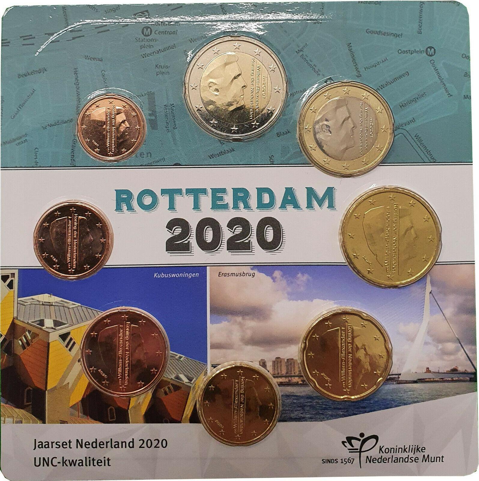 Нидерланды официальный набор евро 2020 г.