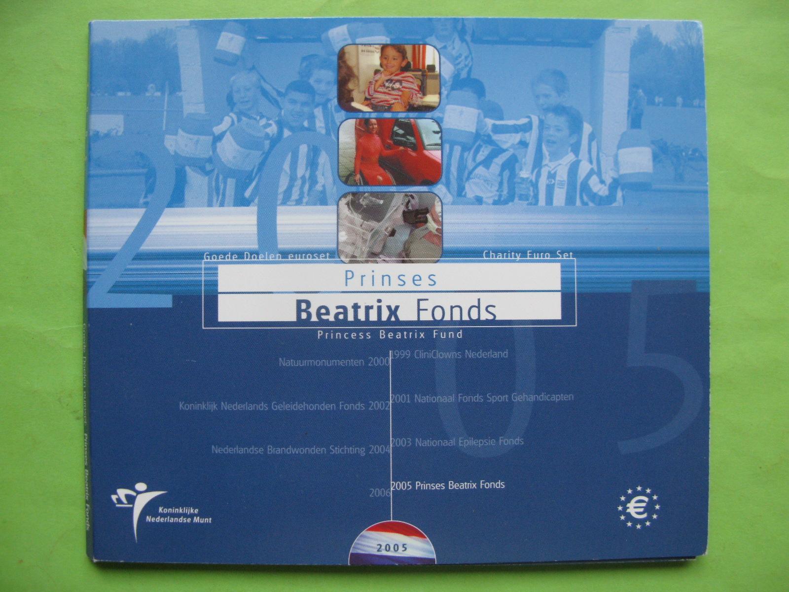 Нидерланды , официальный набор евро  2005 г.