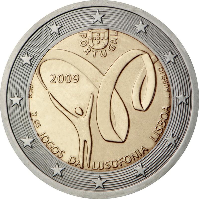 Португалия 2 евро 2009 г.  Игры португалоязычных стран