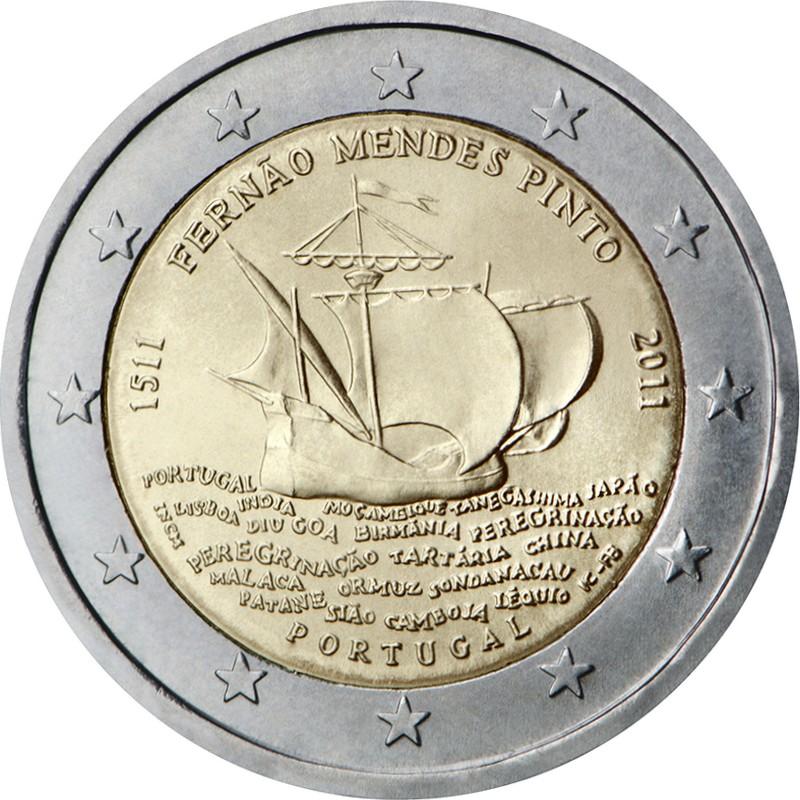 Португалия 2 евро 2011 г.  Фернан Пинто