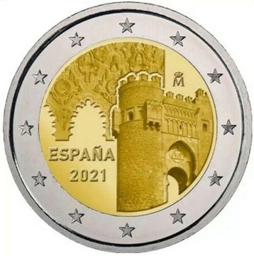 Испания 2 евро 2021 г. Исторический центр Толедо