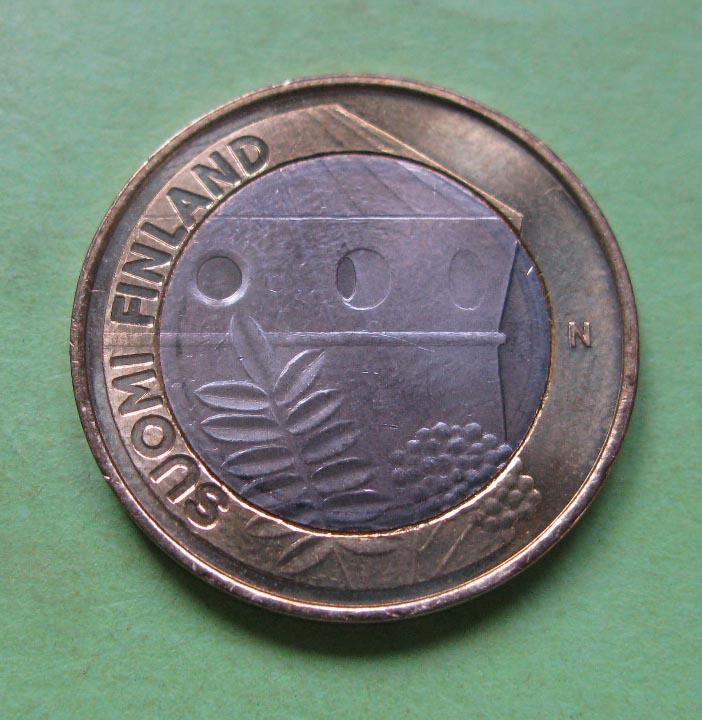 Финляндия 5 евро 2013 г. Архитектура провинций . -Саво