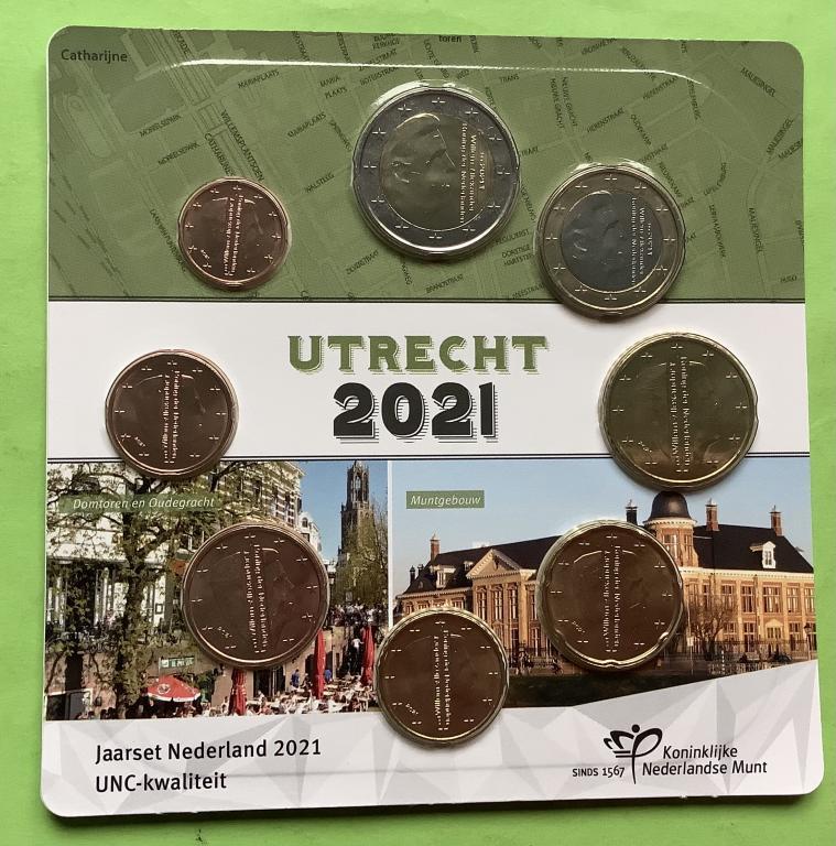 Нидерланды официальный набор евро 2021 г.
