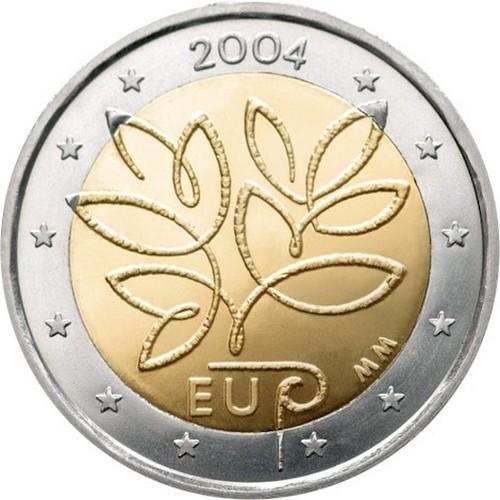 Финляндия 2 евро 2004 г. Расширение Евросоюза