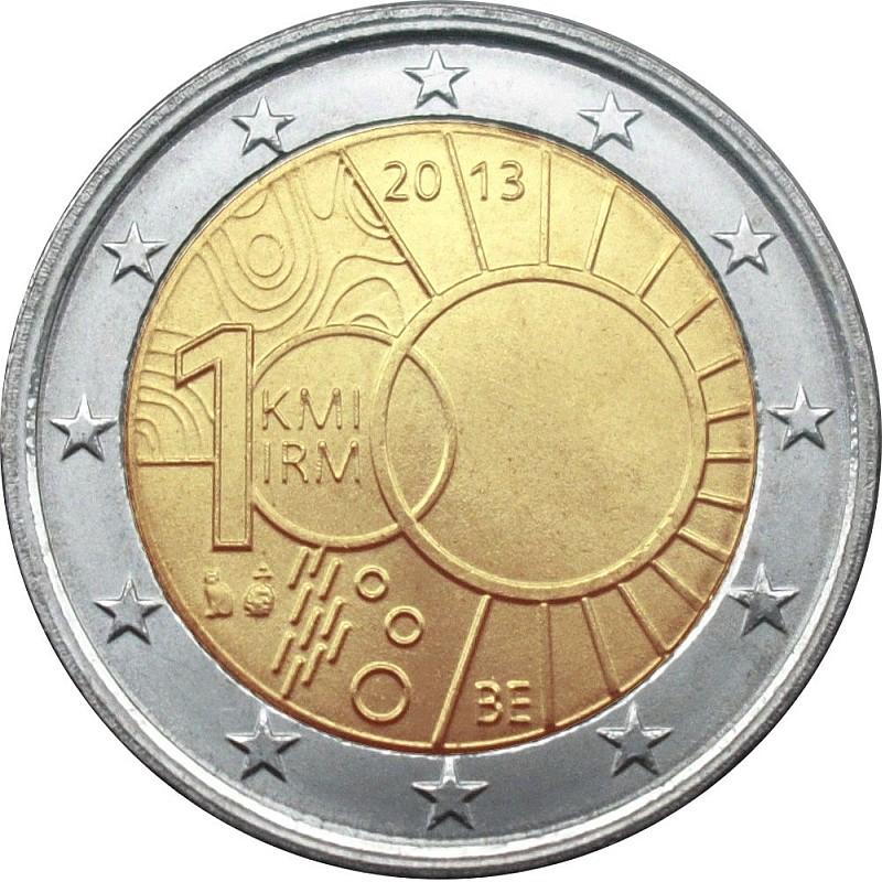 Бельгия 2 евро 2013 г. Метеорологический институт