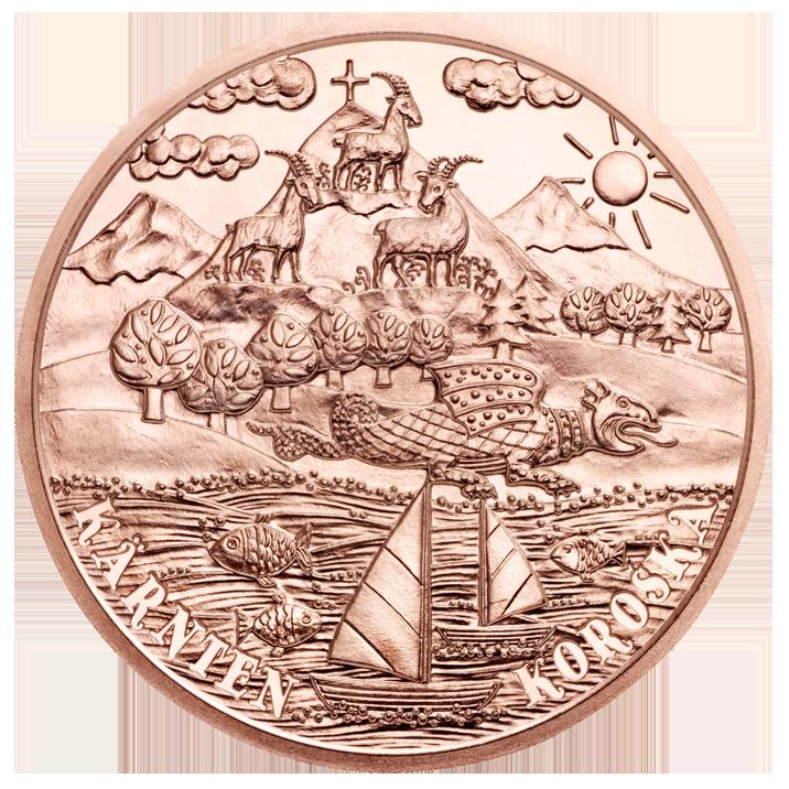 Австрия  10 евро 2012 г. Каринтия