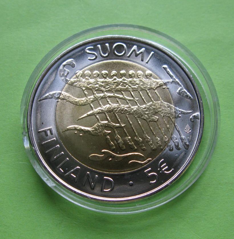 Финляндия 5 евро 2007 г.  Независимость