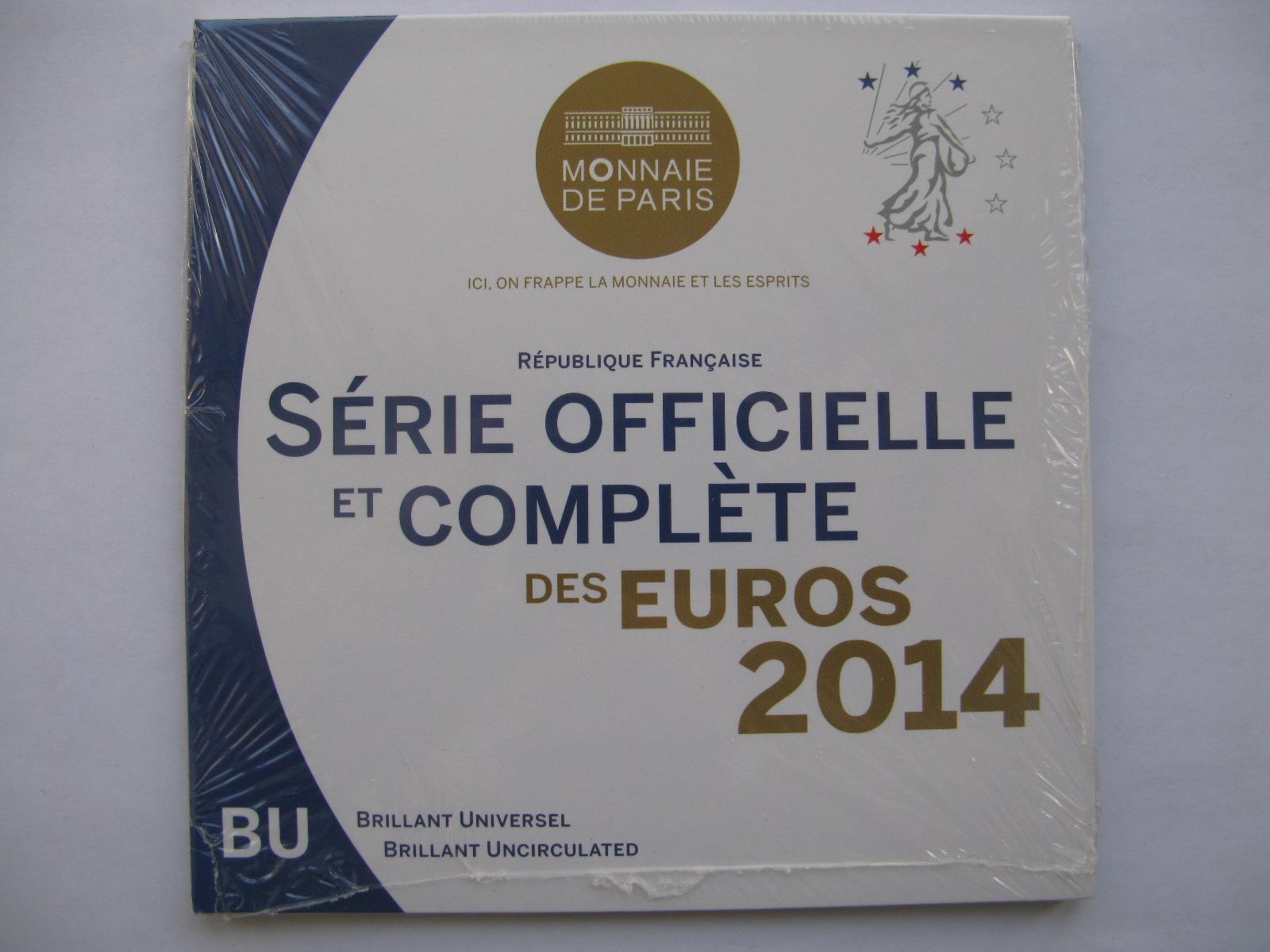 Франция официальный набор 2014 г.