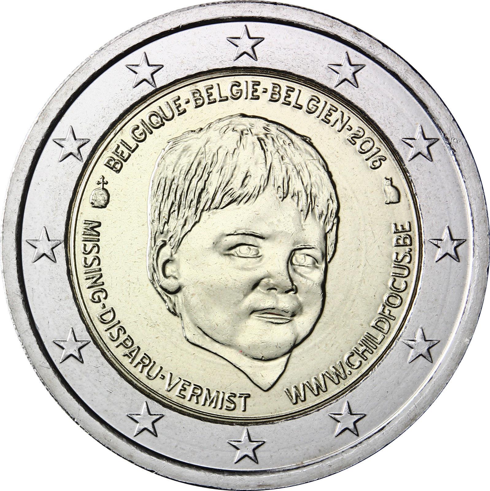 Бельгия 2 евро 2016 г.   20 лет центра Child Focus