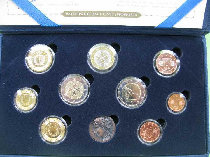 Мальта официальный набор евро 2011 г.