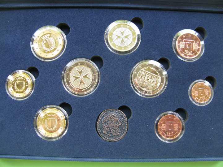 Мальта официальный набор евро 2012 г.